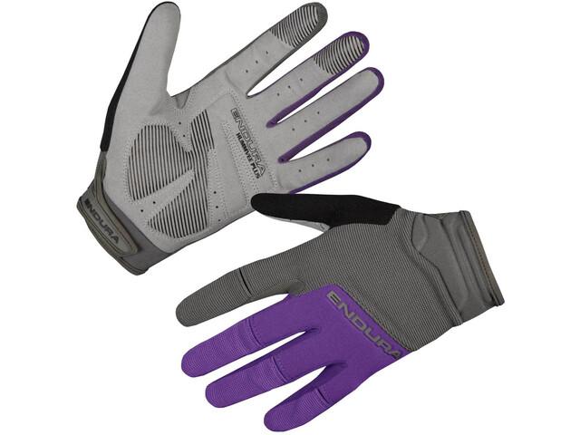 Endura Hummvee Plus II Cykelhandsker Damer, purple